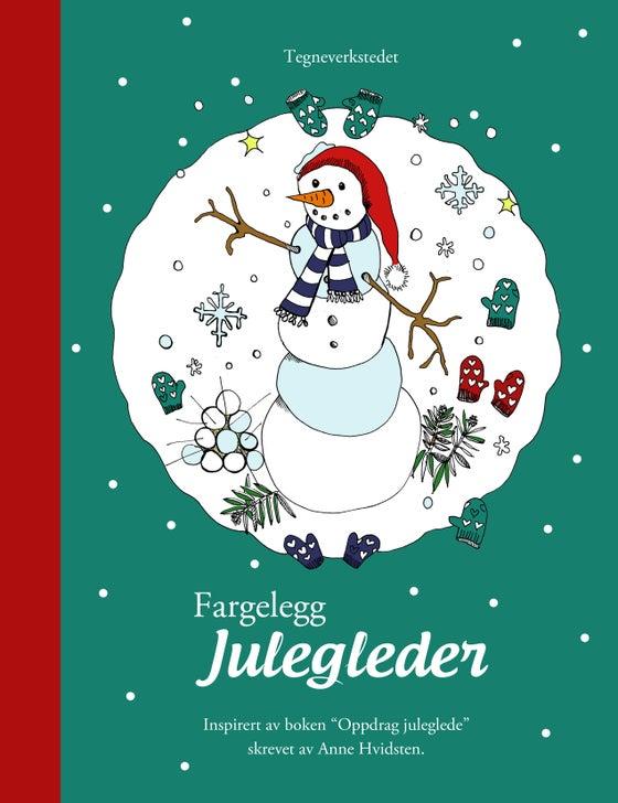 Image of Tegnebok - Fargelegg julegleder