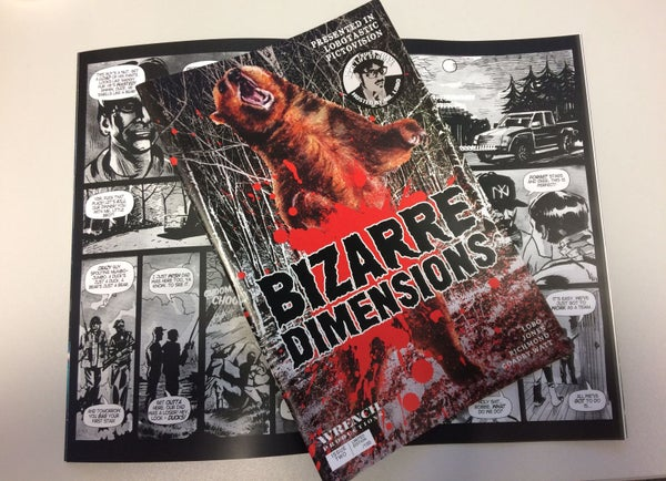 Image of Bizarre Dimensions #2 PRINT COMIC limited edition of 100