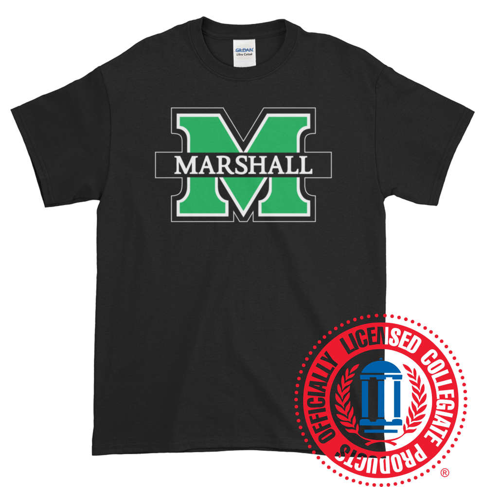Image of Marshall University™ Logo T-Shirt (Multiple Colors Available)