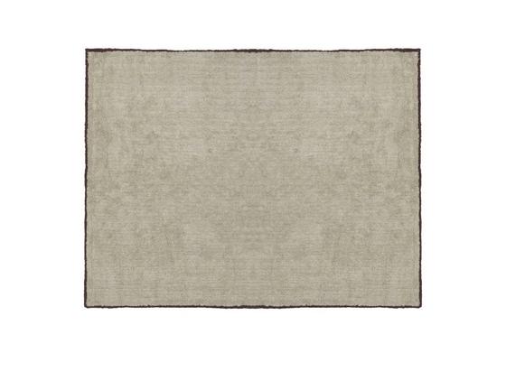 Image of Alfombra algodón beige con ribete