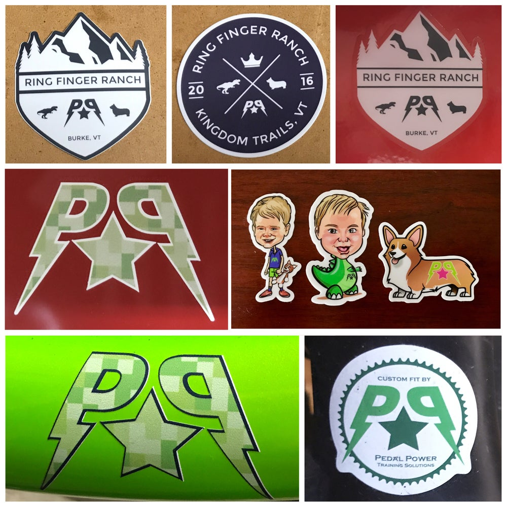 Image of Stickers and decals