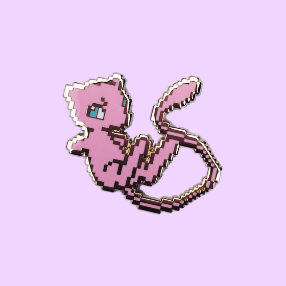 Image of Hard Enamel 8bit Mew
