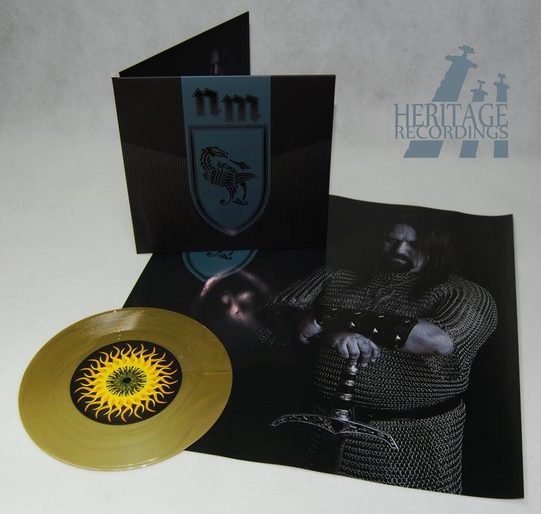 "Image of NOKTURNAL MORTUM ""Orathania/Kolyada"" 7"" EP - GOLD"