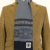 Image of Regency border print scarf
