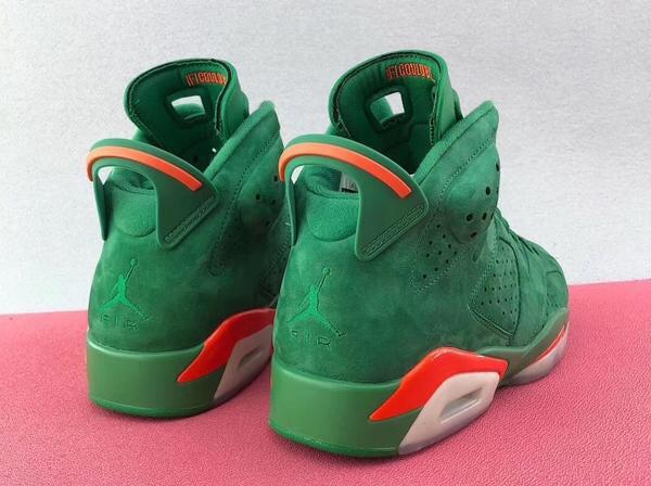 "Image of Authentic Air Jordan 6 ""Gatorade"" Add to Favorites SKU : Authentic Air Jordan 6 ""Gatorade"