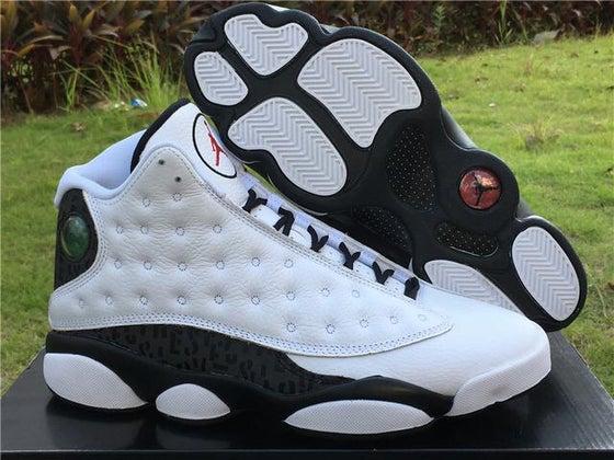 "Image of Authentic Air Jordan 13 ""Love & Respect"
