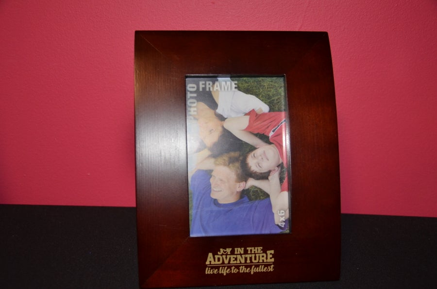 Image of Joy In The Adventure Picture Frame