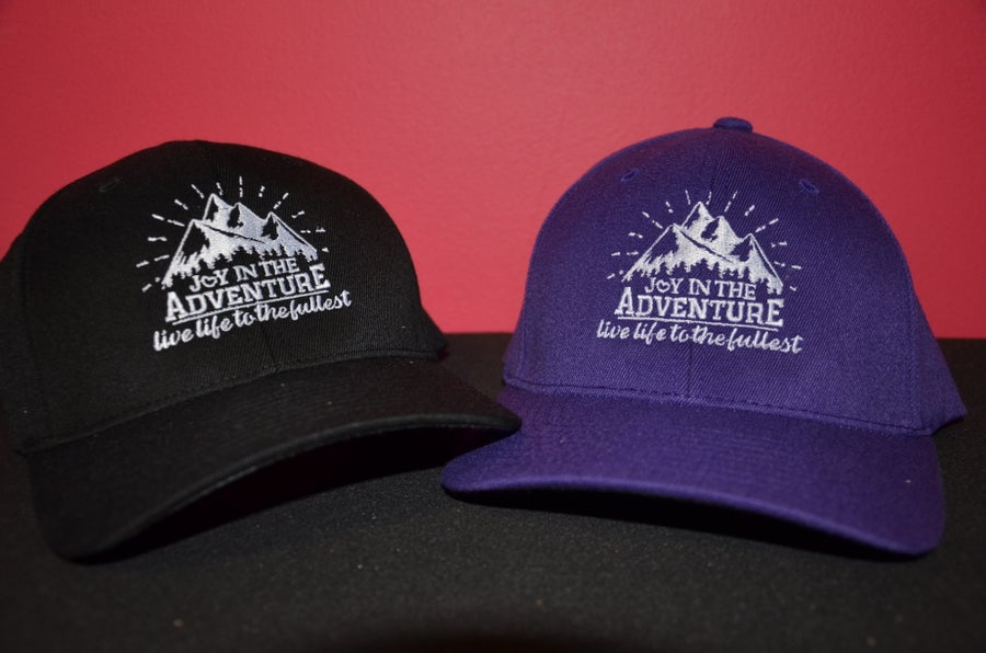 Image of Joy In The Adventure Logo Cap