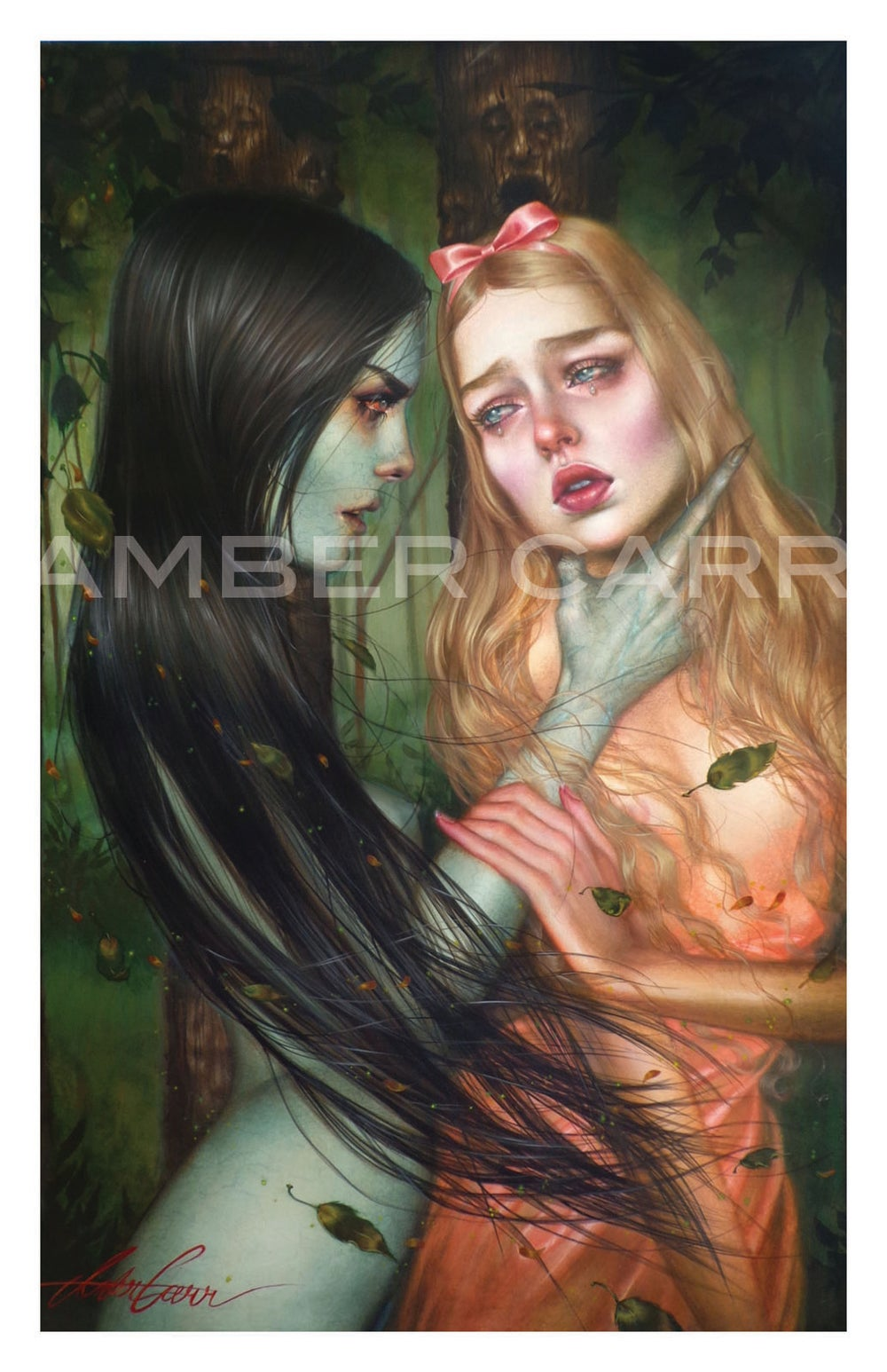 """Image of """"Witch in the Woods"""" 11"""" x 17"""" Print"""
