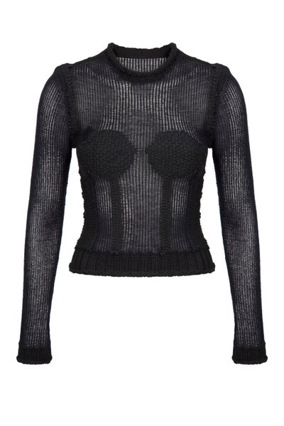 Image of Hand Knit Lingerie Jumper