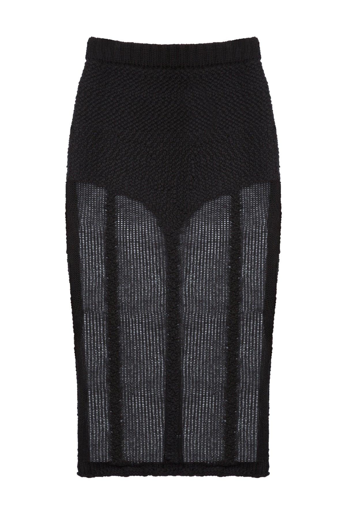 Image of Hand Knit Lingerie Skirt