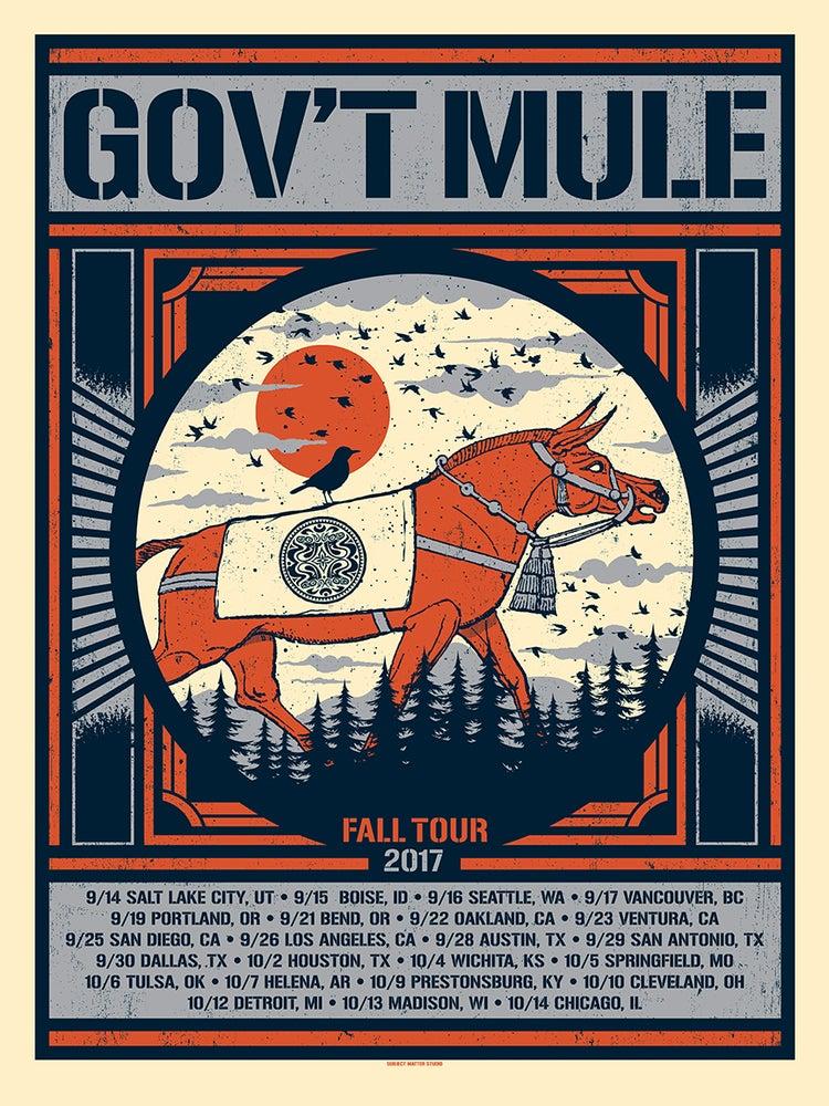 Image of Gov't Mule Fall Tour 2017 Version 2