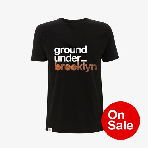 Image of Bedrock Underground Brooklyn T-Shirt in Black