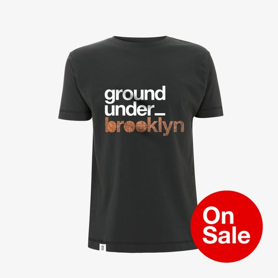 Image of Bedrock Underground Brooklyn T-Shirt in Charcoal Grey