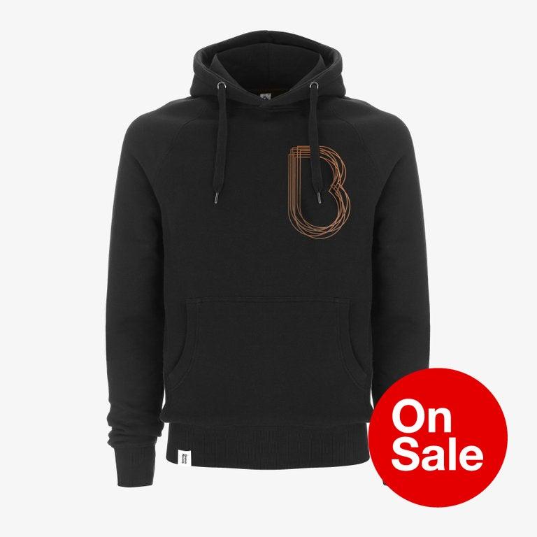 Image of Bedrock Brooklyn Pullover Hooded Top in Black