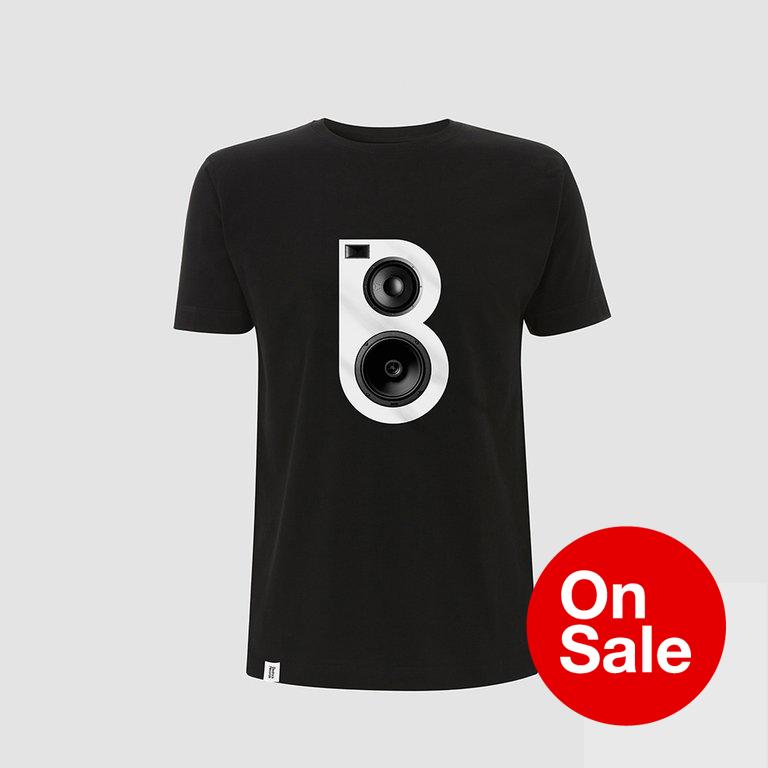 Image of Speaker T-shirt in Black