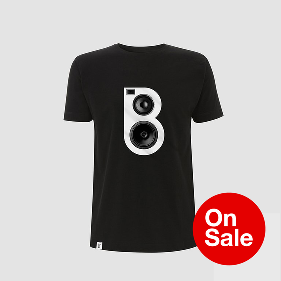 Image of Speaker T-shirt in Black