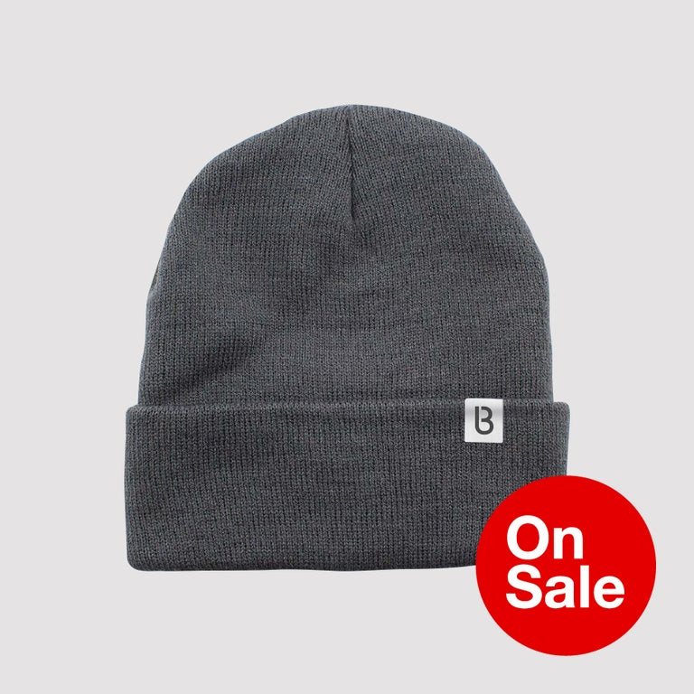 Image of Bedrock Re:Structured Cuff Beanie in Grey