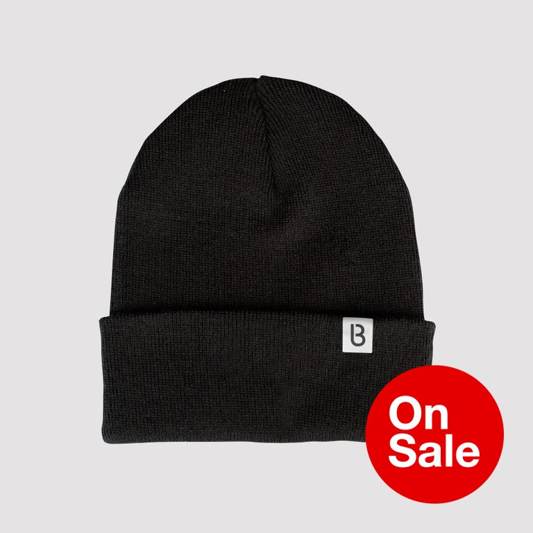 Image of Bedrock Re:Structured Cuff Beanie in Black