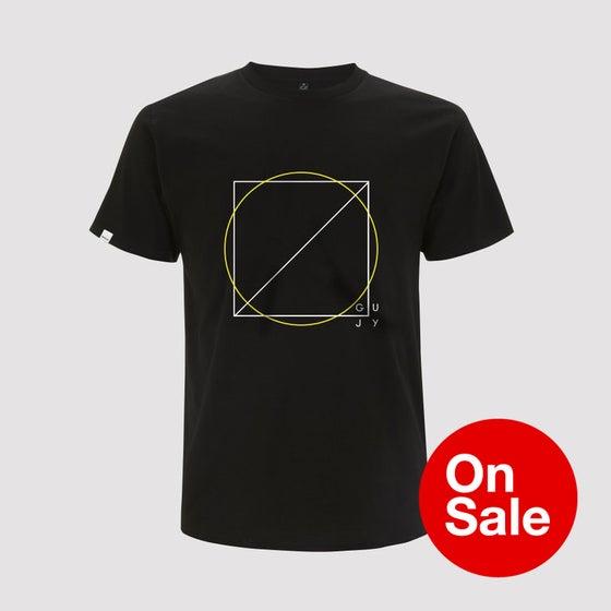 Image of Guy J - The Trees, The Sea & The Sun 2Tone Black T Shirt