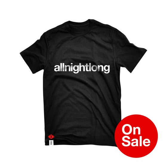 Image of Stereo allnightlong T-shirt in Black