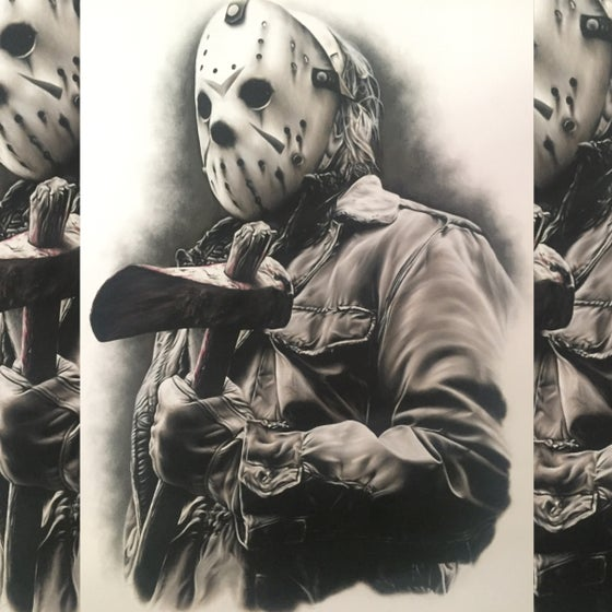 Image of Limited edition Jason A4
