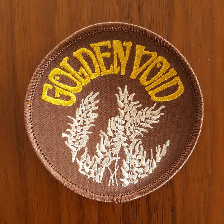 Image of Golden Void Embroidered Patch