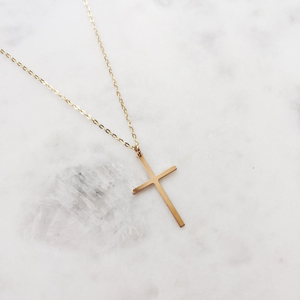 Large cross necklace helping jewels image of large cross necklace mozeypictures Image collections