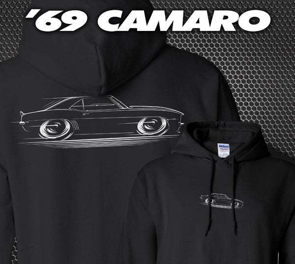 Image of '69 Camaro T-Shirts Hoodies Banners