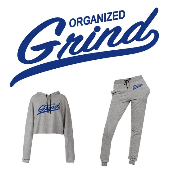 Image of OG Team Logo Ladies Crop Top Hoodie & Sweats