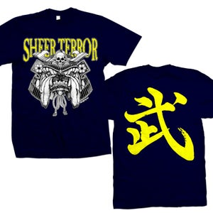"Image of SHEER TERROR ""Samurai Bulldog"" T-Shirt"