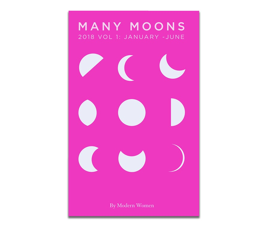Image of MANY MOONS 2018 vol 1 PRE-ORDER