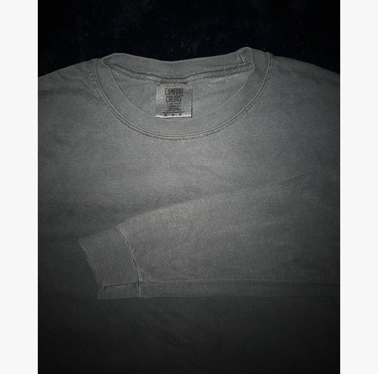 Image of Ash Grey Heavy Duty 420 long sleeve Loose Fit :)