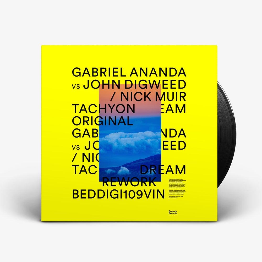 "Image of Gabriel Ananda VS John Digweed / Nick Muir - Tachyon Dream 12"" Vinyl"