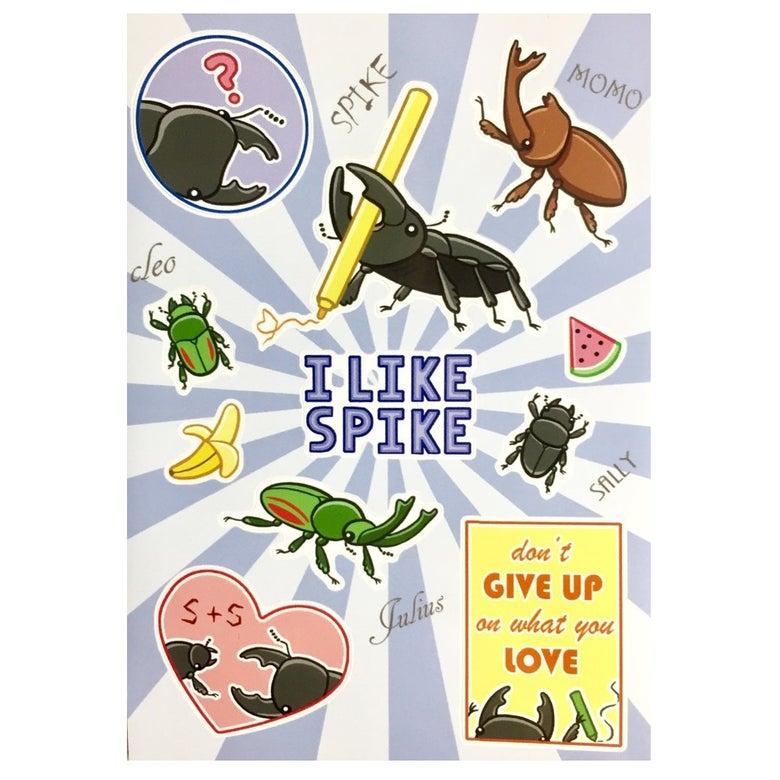 Image of Spike & Friends Sticker Sheet