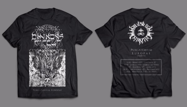 Image of Purgatorium Europae Tour Shirt