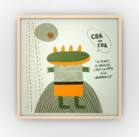 Image of AFFICHE /// Modèle COA