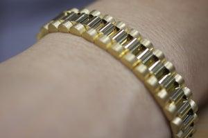 Image of Rolex Inspired Gold Bracelet
