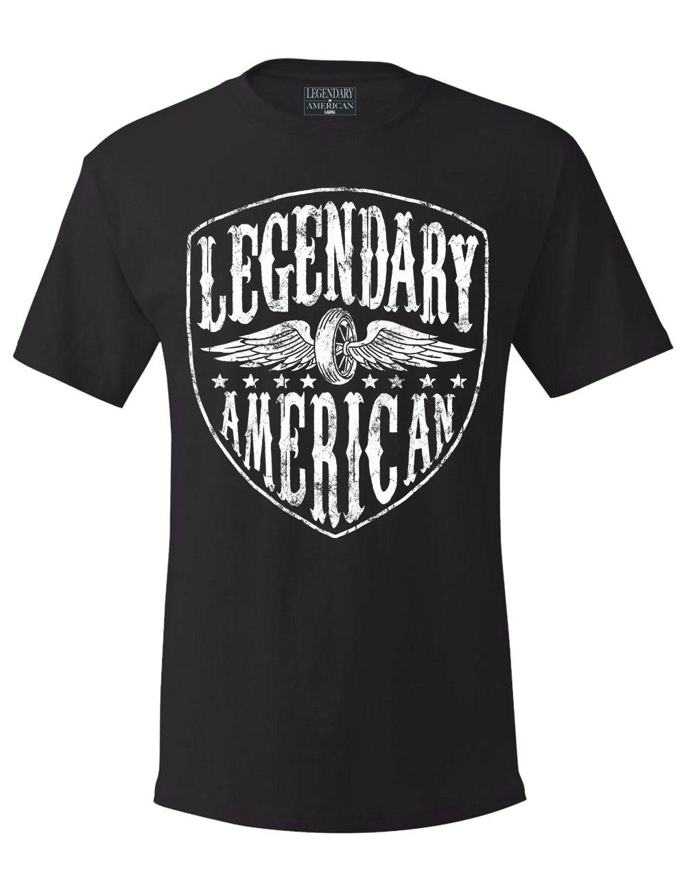 Image of Legendary American Moto Tee
