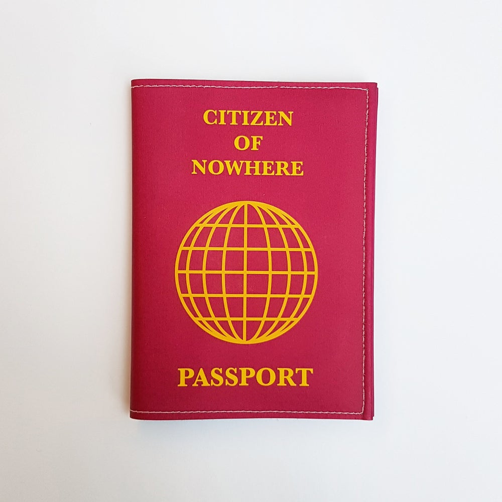 Image of Citizen of Nowhere Passport Holder