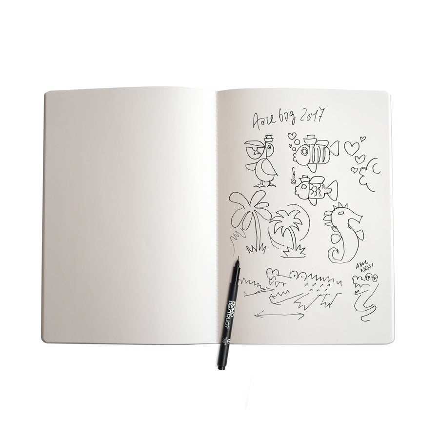 Image of Büro Destruct - Sketchbooklet L Aqua