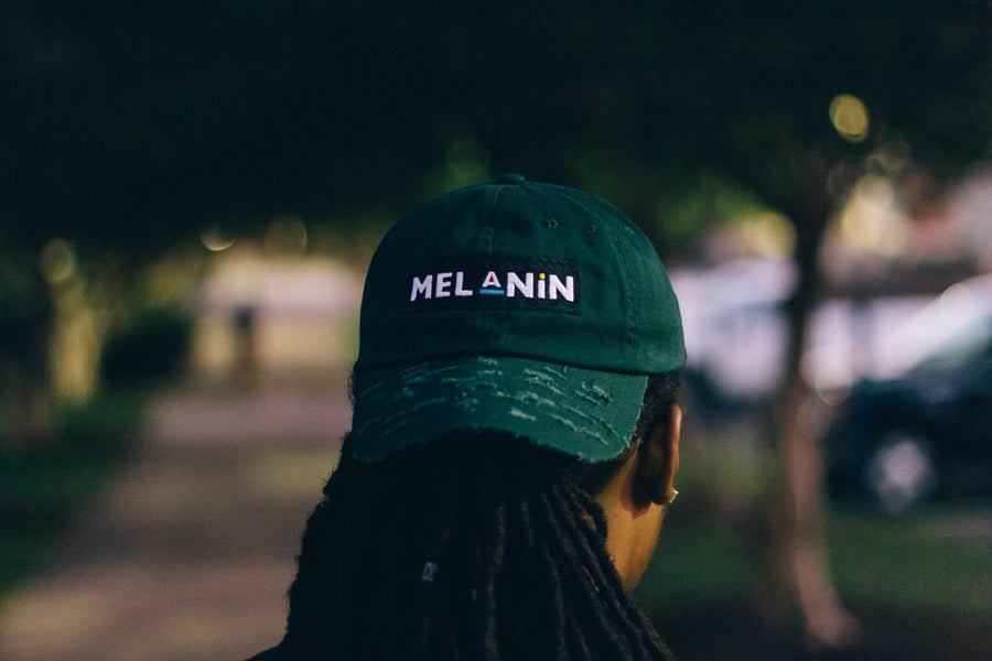 "Image of ""Martin"" Olive Green Melanin Hat"