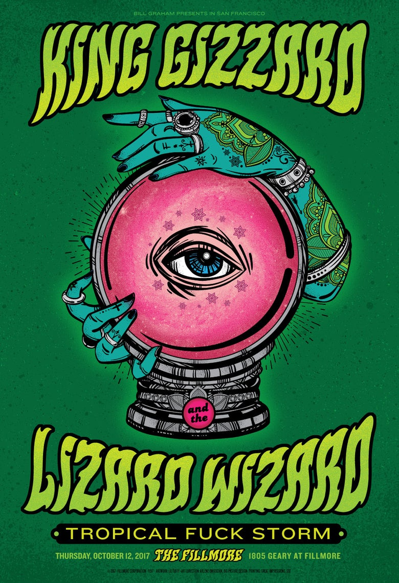 Image of King Gizzard and the Lizard Wizard - San Francisco 2017