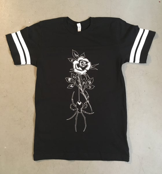 Image of ROSE & SPIDER JERSEY
