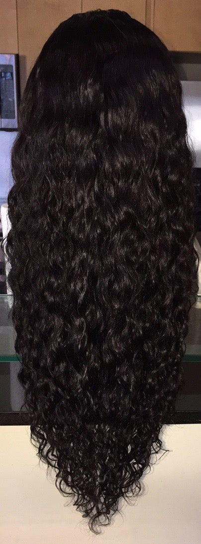 "Image of Cambodian Natural Waves 22"" Custom Lace Frontal Wig!"