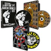 Image of DVD Package - NYHC Chronicles, Billy Club Sandwich, No Redeeming Social Value
