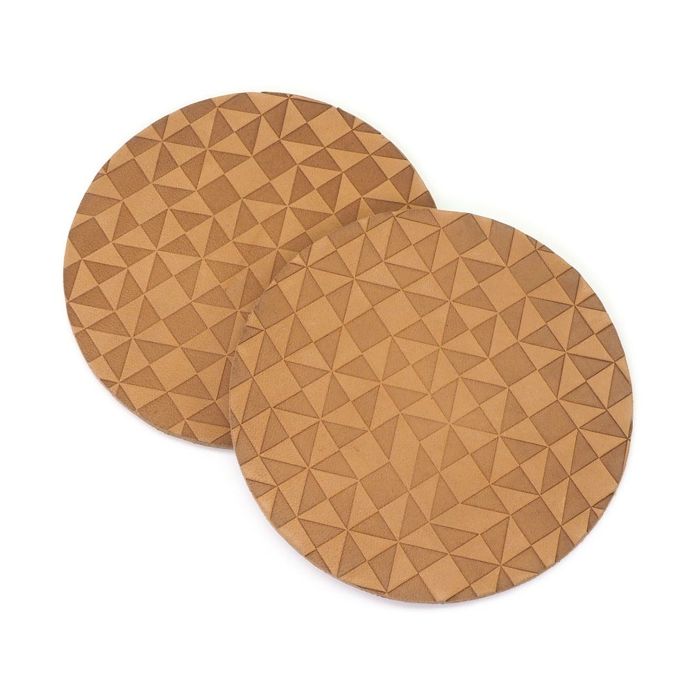 Image of LeatherPress Coasters