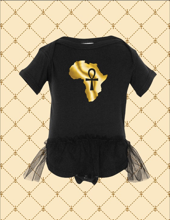 Image of Africa/Ankh Newborn/Infant TuTu Creeper