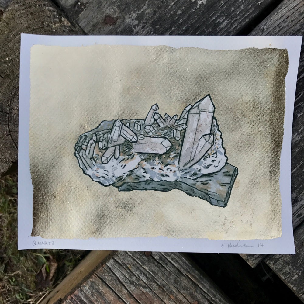 Image of Quartz Print - All proceeds go to trans people of color in NC