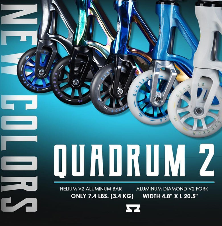 Image of New!! AO Quadrum 2 Complete Scooter